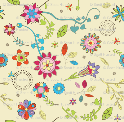 Spoonflower Dream