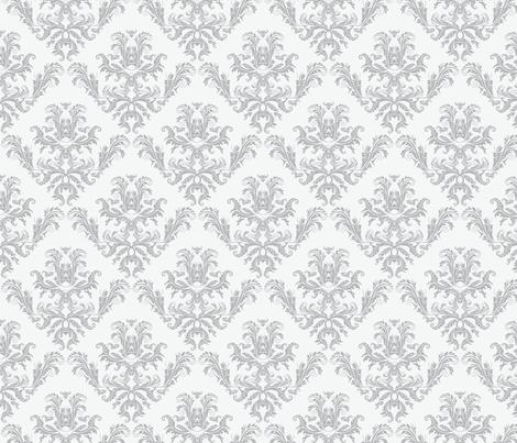 Pineapple Damask large fabric by flyingfish on Spoonflower - custom fabric