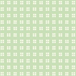 square block print mint