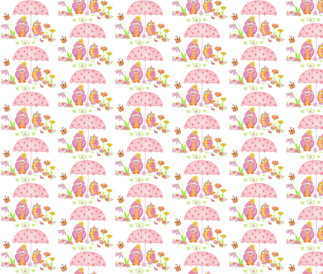 Hoos Having Tea? fabric by kbexquisites on Spoonflower - custom fabric
