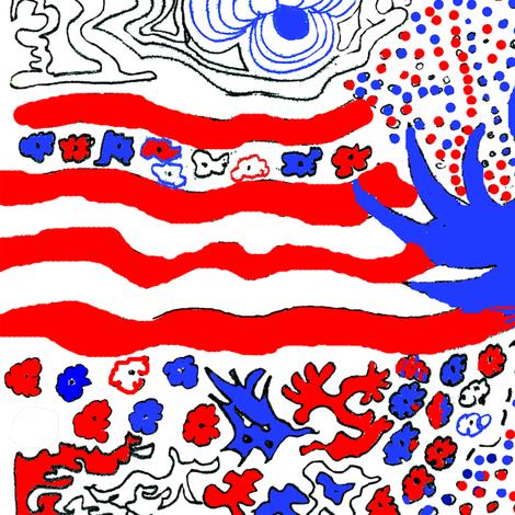 flagdaytray2012 fabric by bongenre on Spoonflower - custom fabric