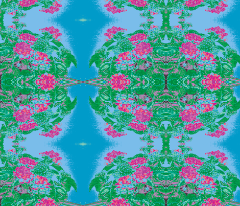 Floral Illusion  fabric by sterlingrun on Spoonflower - custom fabric
