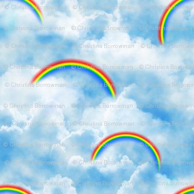 Wizard of Oz - Blue Skies and Rainbows by JoyfulRose