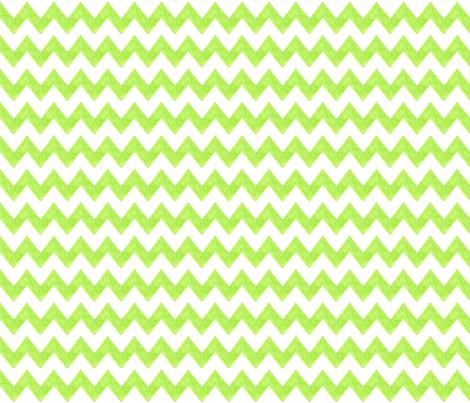 Zig Zag Terrain in Lime fabric by kbexquisites on Spoonflower - custom fabric