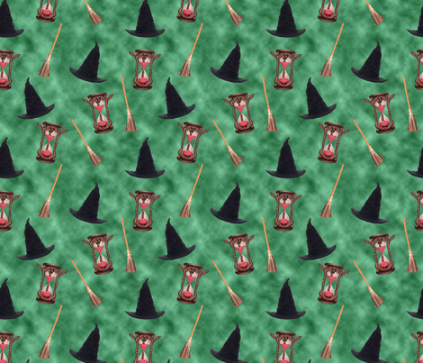 Wizard of Oz - Wicked Witch of the West fabric by joyfulrose on Spoonflower - custom fabric
