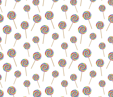 Wizard of Oz - Lollipops by JoyfulRose fabric by joyfulrose on Spoonflower - custom fabric