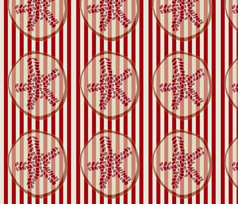 Sliced Pomegranates fabric by wiccked on Spoonflower - custom fabric