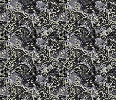 Midnight Escape fabric by flyingfish on Spoonflower - custom fabric