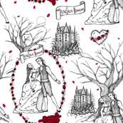 Dracula strikes again toile