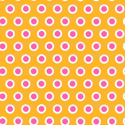 Dotty Orange XL