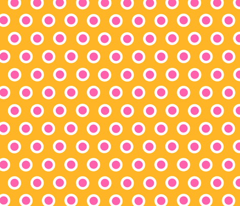 Dotty Orange XL fabric by johanna_lange_designs on Spoonflower - custom fabric