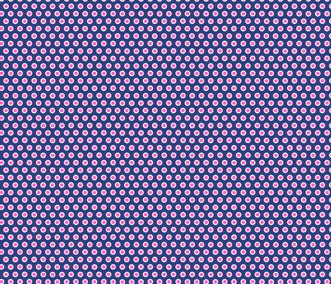 Dotty Dark Blue Small fabric by johanna_lange_designs on Spoonflower - custom fabric