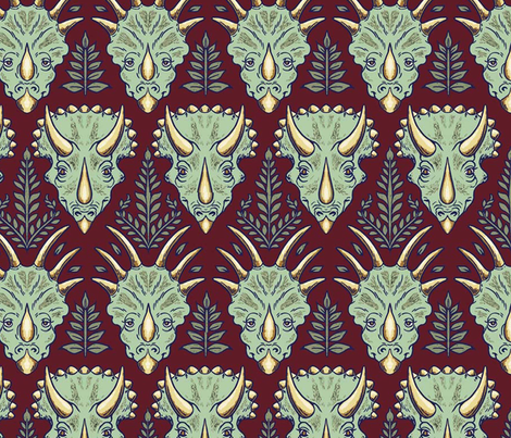 EXTINCT fabric by dan_h on Spoonflower - custom fabric