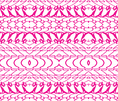 Christi {Large Scale} in Pink fabric by ashley_cooper_design_ on Spoonflower - custom fabric