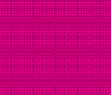Christi in Hot Pink fabric by ashley_cooper_design_ on Spoonflower - custom fabric