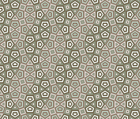 Undulation - cool fabric by ormolu on Spoonflower - custom fabric