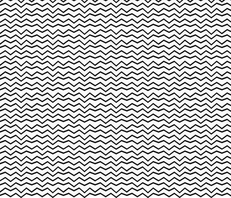 BW-zigzag fabric by terriaw on Spoonflower - custom fabric