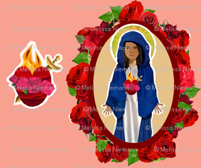 Blessed Mother and her Immaculate Heart