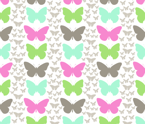 lotus_butterfly fabric by christiem on Spoonflower - custom fabric