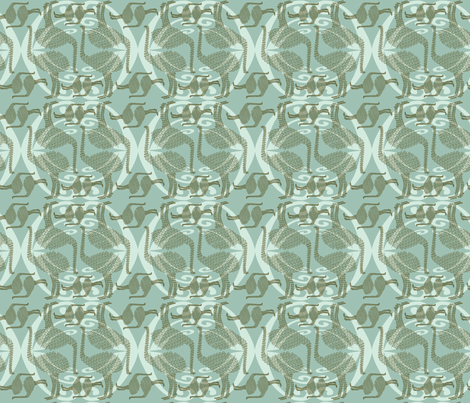 New Zealand Moa fabric by madex on Spoonflower - custom fabric
