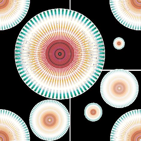 Circles fabric by bartlett&craft on Spoonflower - custom fabric