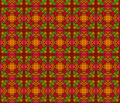 kaleidoscope_5 fabric by mammajamma on Spoonflower - custom fabric