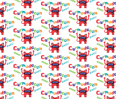 Crumudeon fabric by andibird on Spoonflower - custom fabric
