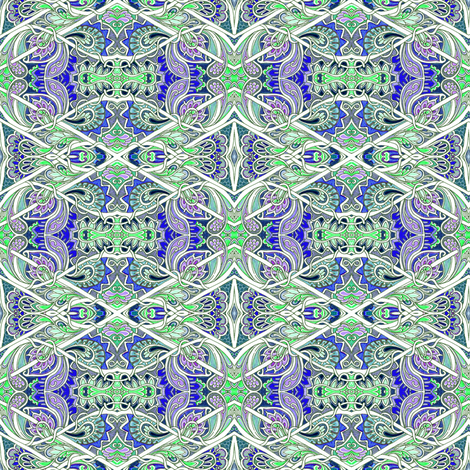 The Paisley Seas fabric by edsel2084 on Spoonflower - custom fabric
