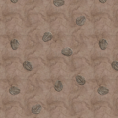 trillobyte muted fabric by leopardessmoon on Spoonflower - custom fabric