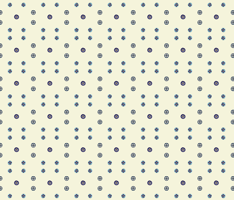 Poly-dots fabric by koalalady on Spoonflower - custom fabric
