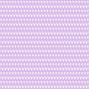 Teardrop Pattern Pastel Lilac