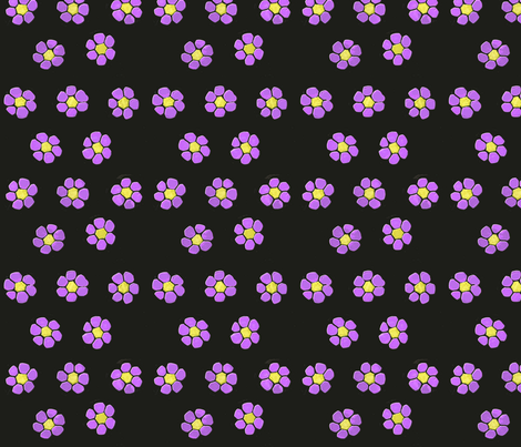 Polymer Clay Flower Cane fabric by koalalady on Spoonflower - custom fabric