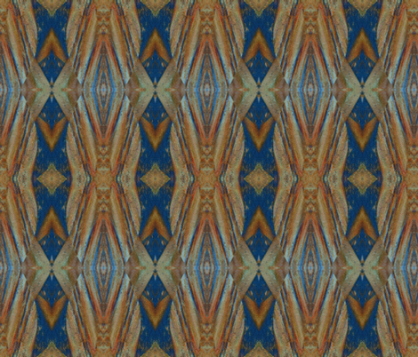 Painted Cedar fabric by anniedeb on Spoonflower - custom fabric