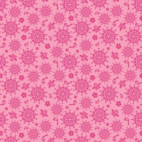 Holiday Folk Art Pink