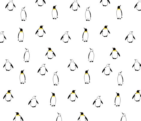 PenguinA2012 fabric by nikky on Spoonflower - custom fabric