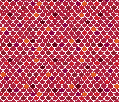 Red Roof fabric by friztin on Spoonflower - custom fabric