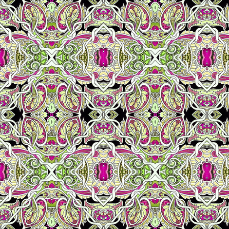 Paisley Forest Patches fabric by edsel2084 on Spoonflower - custom fabric