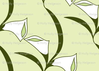 Deco Calla Lily white