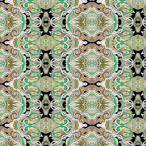 Where the Paisleys Spawn fabric by edsel2084 on Spoonflower - custom fabric