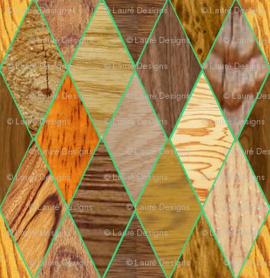 Wood Diamonds