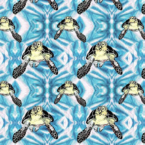 Turtles_in_ the_Blue