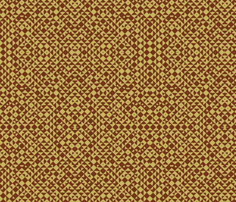 Diamond Realm brown fabric by flyingfish on Spoonflower - custom fabric