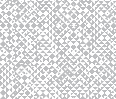 Diamond Realm grey fabric by flyingfish on Spoonflower - custom fabric