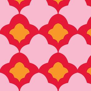 Double Fleur de Lis warm