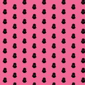 Vader Black Polka on Pink