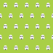 Stormtrooper Polka on Lime