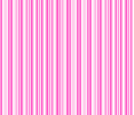 Pink Bird Stripe fabric by shelleymade on Spoonflower - custom fabric