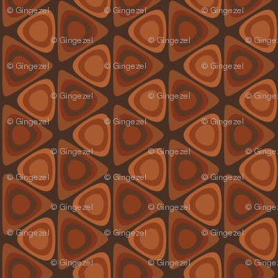 Hardwood Circles in Triangles © Gingezel™ 2012