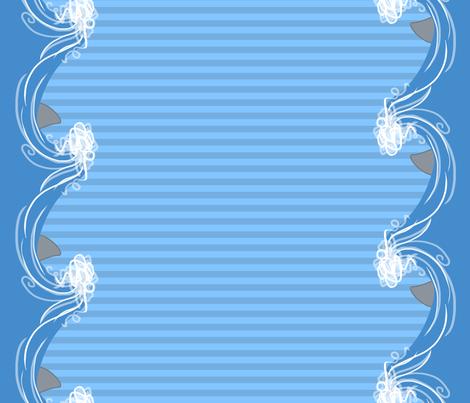 Creepy Stripes Double fabric by peppermint_carousel on Spoonflower - custom fabric