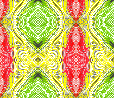 African_Colours fabric by yezarck on Spoonflower - custom fabric